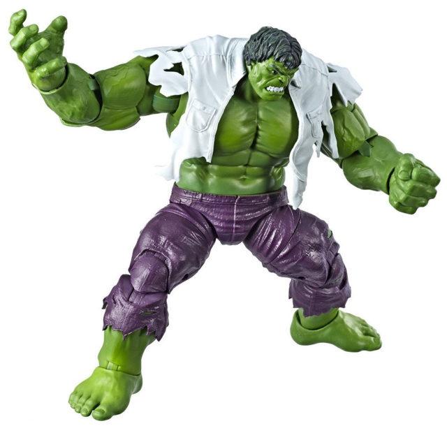 80 Years of Marvel Legends Hulk Figure Comic Book Torn Shirt Hasbro 2019