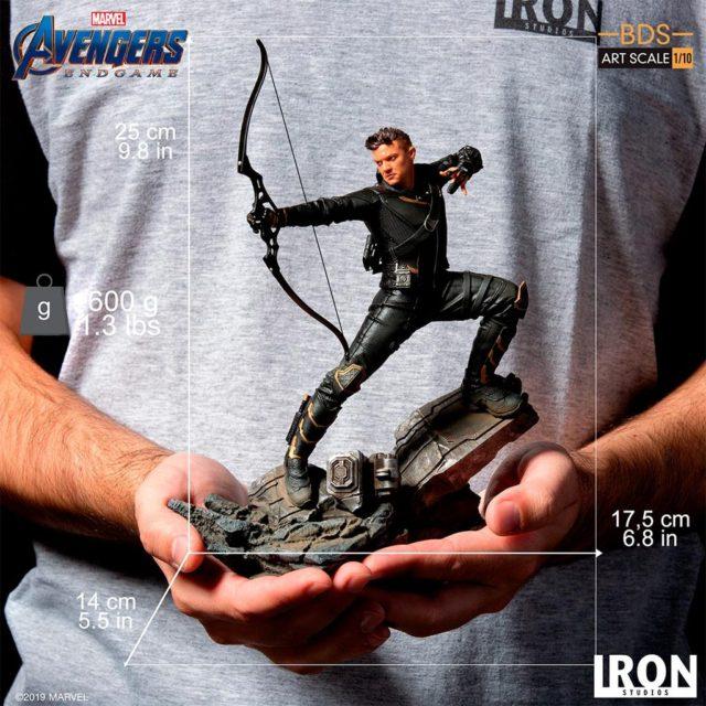 Avengers Endgame Hawkeye Iron Studios BDS Statue