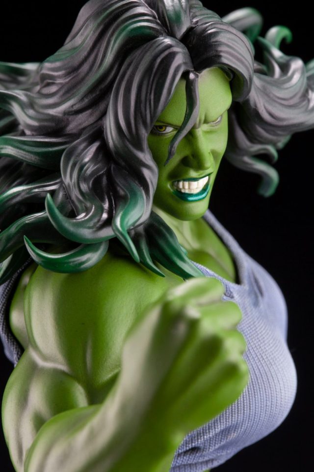 Close-Up of Koto She-Hulk Premier ARTFX Statue