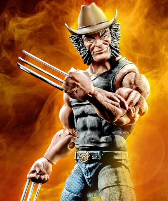 May The 4th Be With You Exclusives: Exclusive Marvel Legends Cowboy Logan Wolverine Figure Up