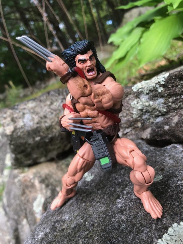 Crossed Arms of Hasbro Marvel Legends Weapon X Six Inch Figure