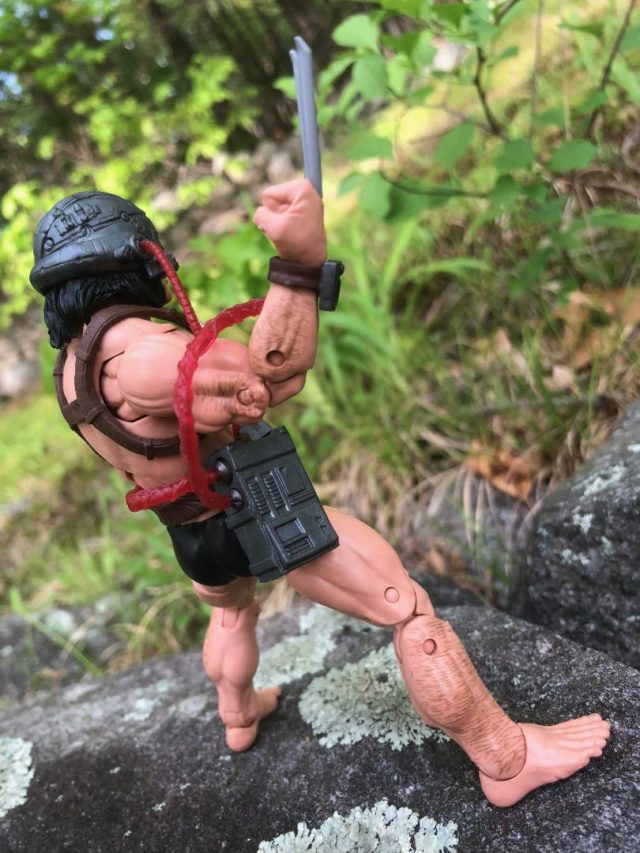 Hair on Arms and Legs of Hasbro Weapon X Figure
