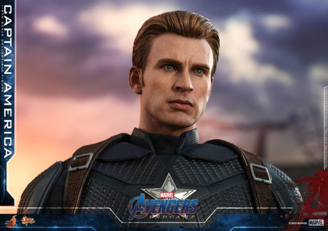 Hot Toys Avengers Endgame Steve Rogers Chris Evans Portrait New Improved
