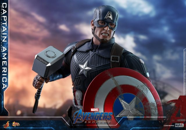 Hot Toys Captain America with Mjolnir and Shield