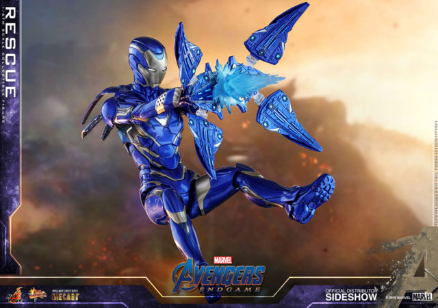 Hot Toys Rescue Die-Cast Figure with Drone Effects Pieces