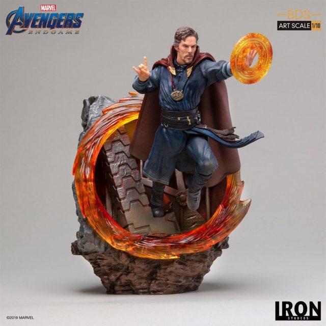 Iron Studios Doctor Strange Endgame Statue Teleportation Ring