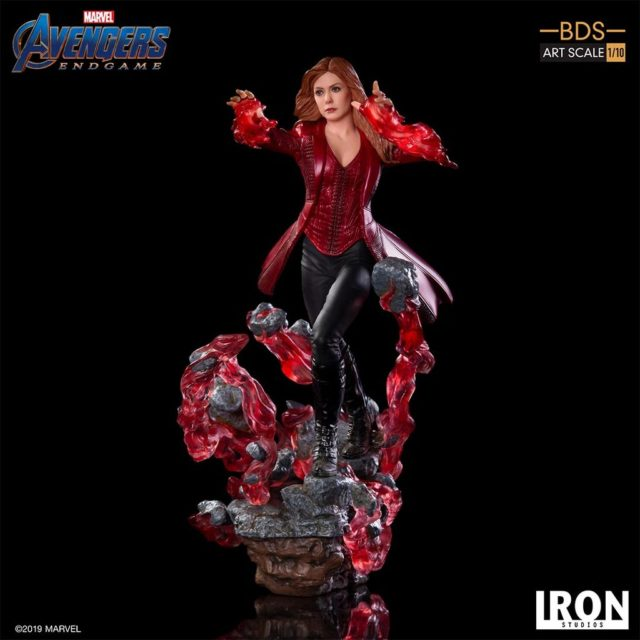 Iron Studios Endgame Scarlet Witch Statue