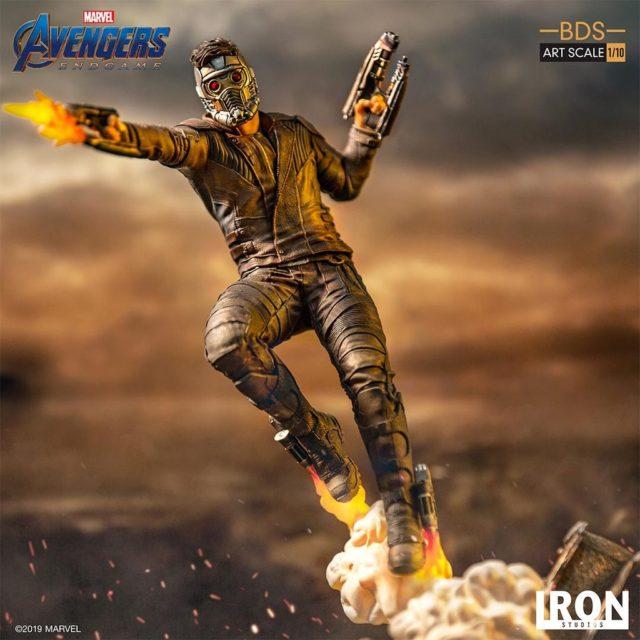 Iron Studios Endgame Star-Lord Statue