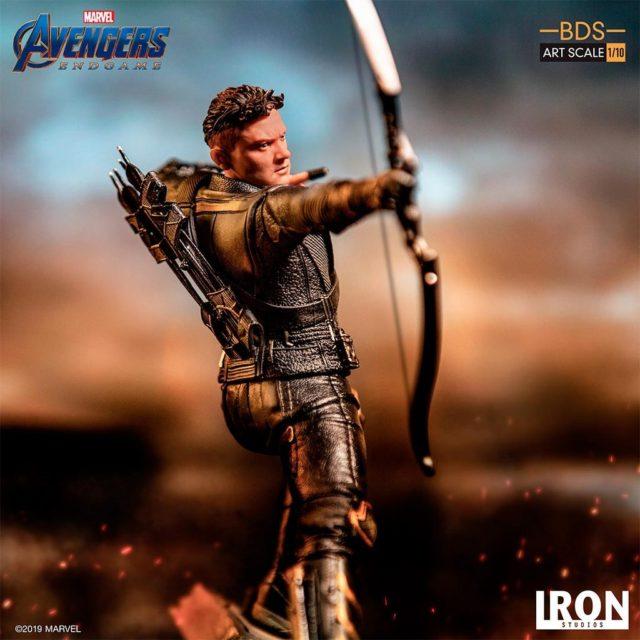 Iron Studios Hawkeye Statue Avengers Endgame