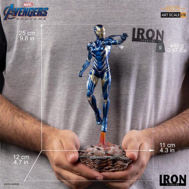 Iron Studios Rescue Statue Pepper Potts Scale Size Photo