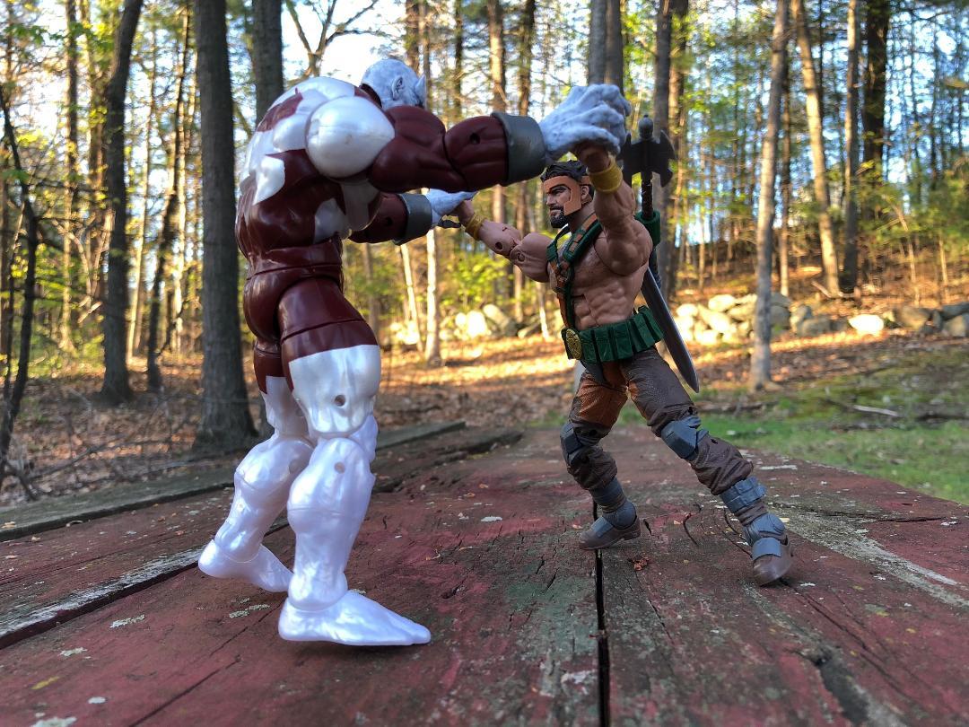 REVIEW: X-Men Marvel Legends Caliban Build-A-Figure - Marvel