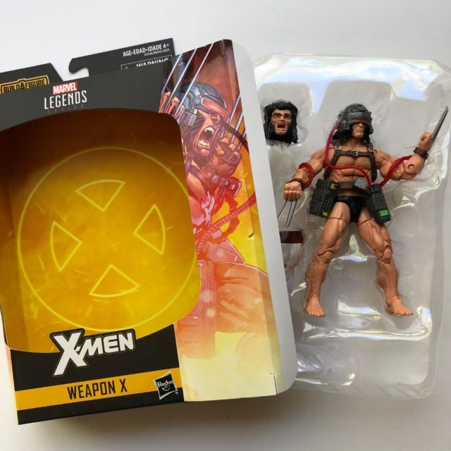 Marvel Legends Unboxing Weapon X Wolverine Figure