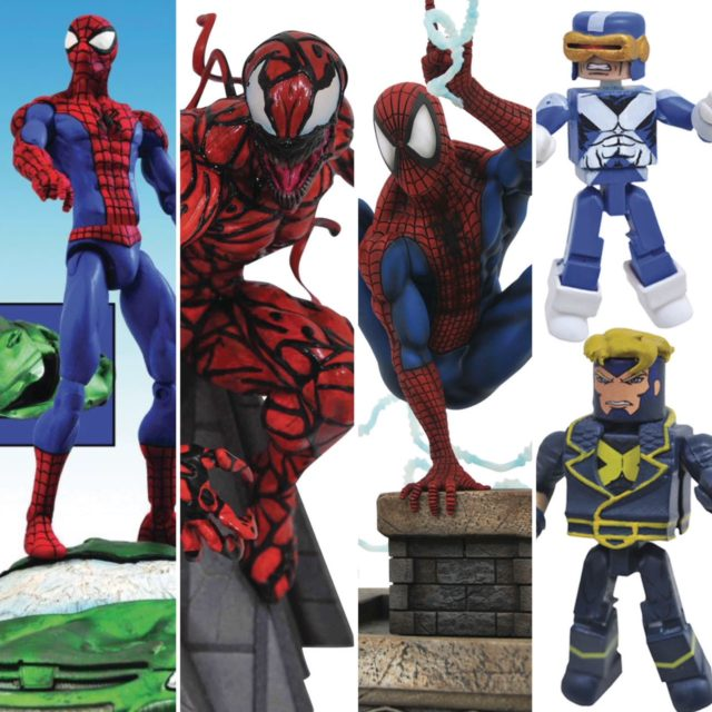 Marvel Select September 2019 Solicitations Carnage Statue X-Factor Minimates