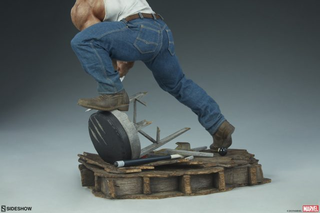 Mixed Media Jeans on Wolverine Logan PF Figure Statue