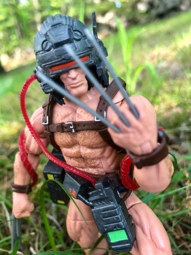 Review X-Men Legends Weapon X Figure
