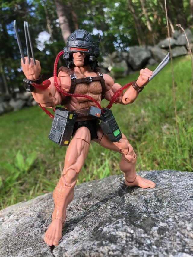 Review X-Men Legends Wolverine Weapon X 6 Inch Figure