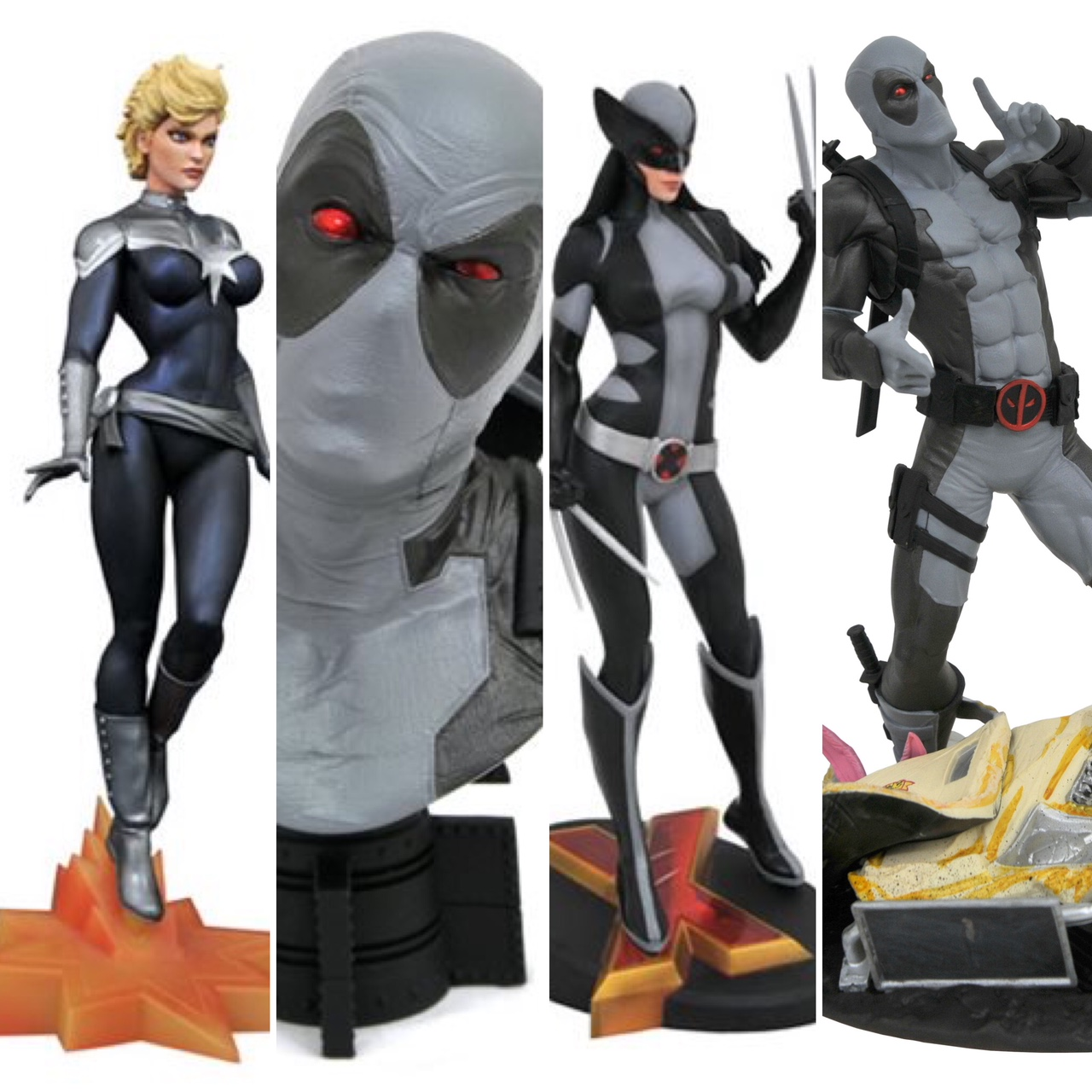 May The 4th Be With You Exclusives: SDCC 2019 Exclusives: Diamond Select Marvel Gallery