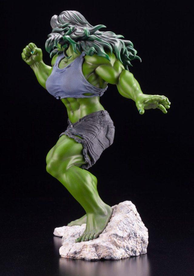 Side of She-Hulk Kotobukiya ARTFX+ Premier Statue