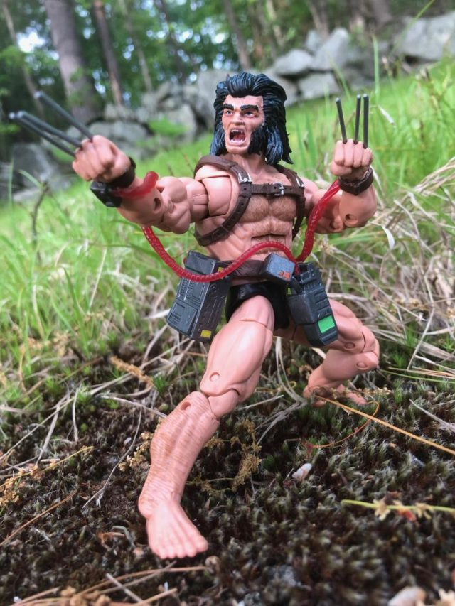 Wolverine Marvel Legends X-Men Weapon X Figure Review
