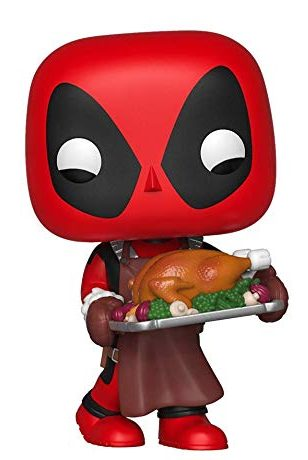 Funko Holiday POP Deadpool with Turkey
