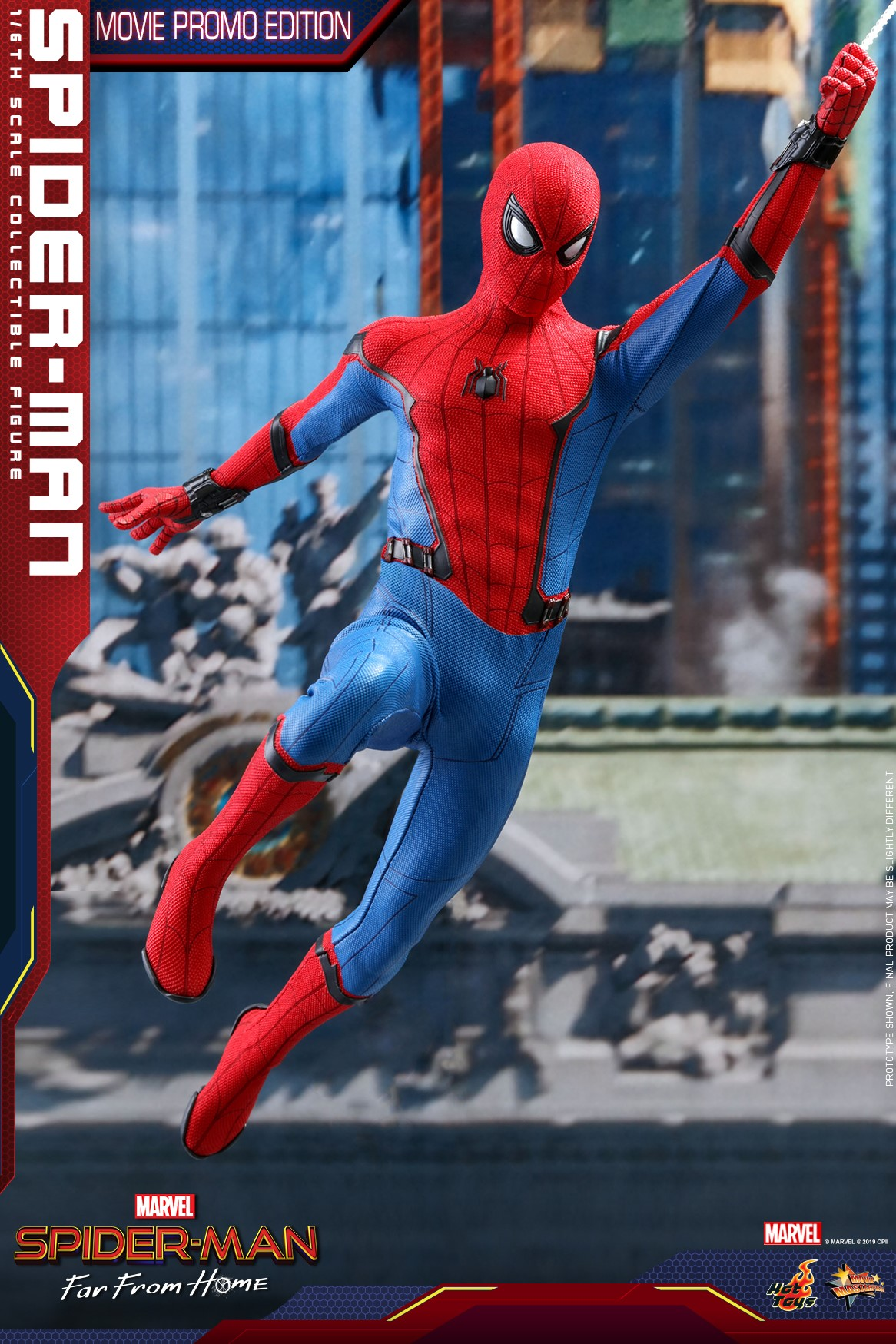 Hot Toys Movie Promo Spider Man Reissue 1 6 Figure Marvel Toy News