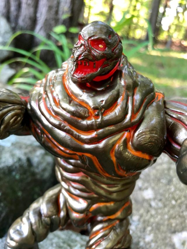Marvel Legends Molten Man BAF Close-Up