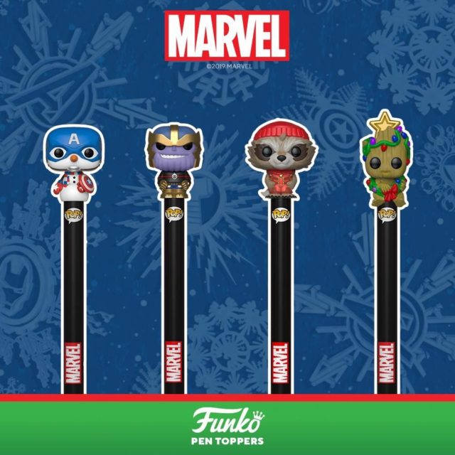 Holiday 2019 Marvel Funko POP Pens