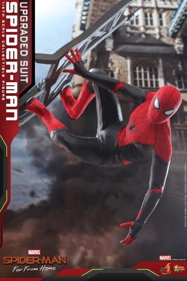 Spider-Man Red Black Costume Hot Toys MMS Movie Masterpiece Series Figure