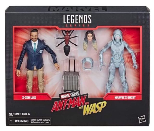 80 Years Marvel Legends Luis and Ghost Packaged