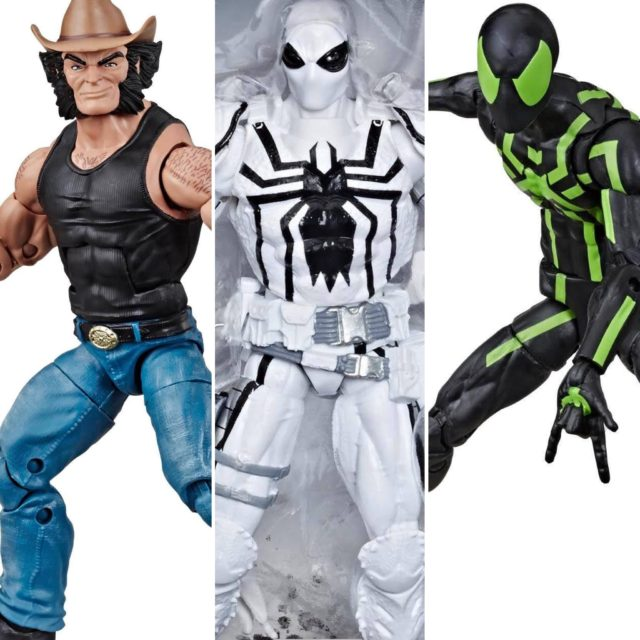 80 Years Marvel Legends Spider-Man Anti-Venom Cowboy Wolverine