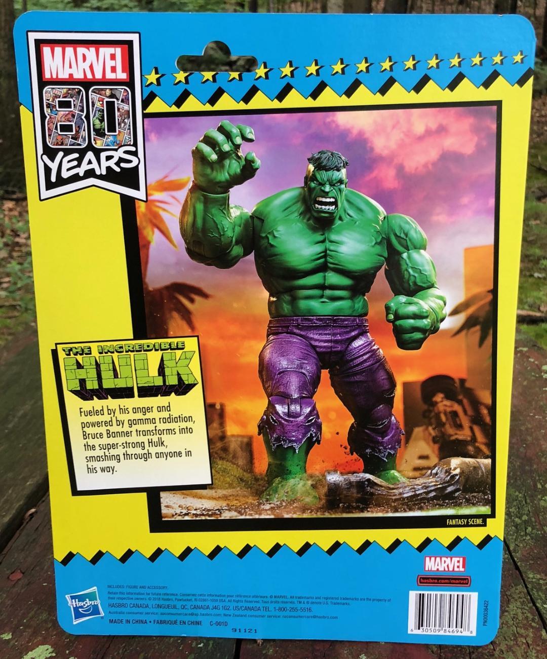REVIEW: SDCC 2019 Marvel Legends Exclusive Hulk Vintage Figure