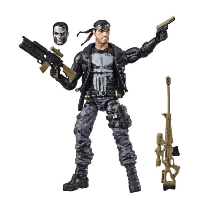 Exclusive Marvel Legends Punisher 80th Anniversary Figure