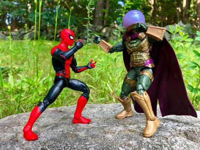 Far From Home Marvel Legends Spider-Man vs Mysterio Figures