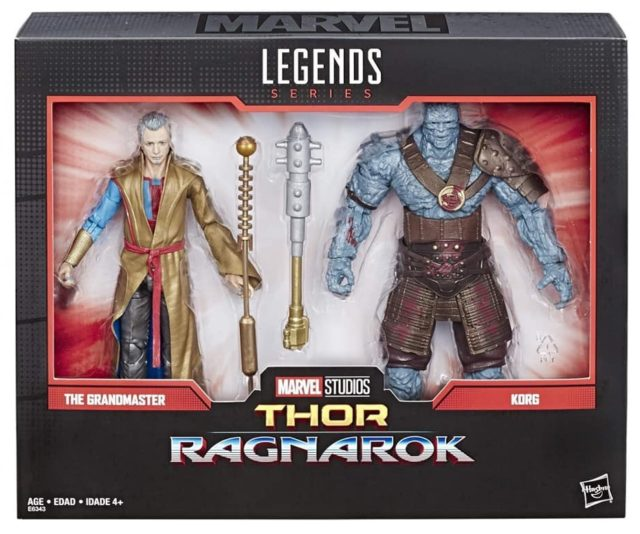 Grandmaster and Korg Marvel Legends 80th Anniversary Two-Pack