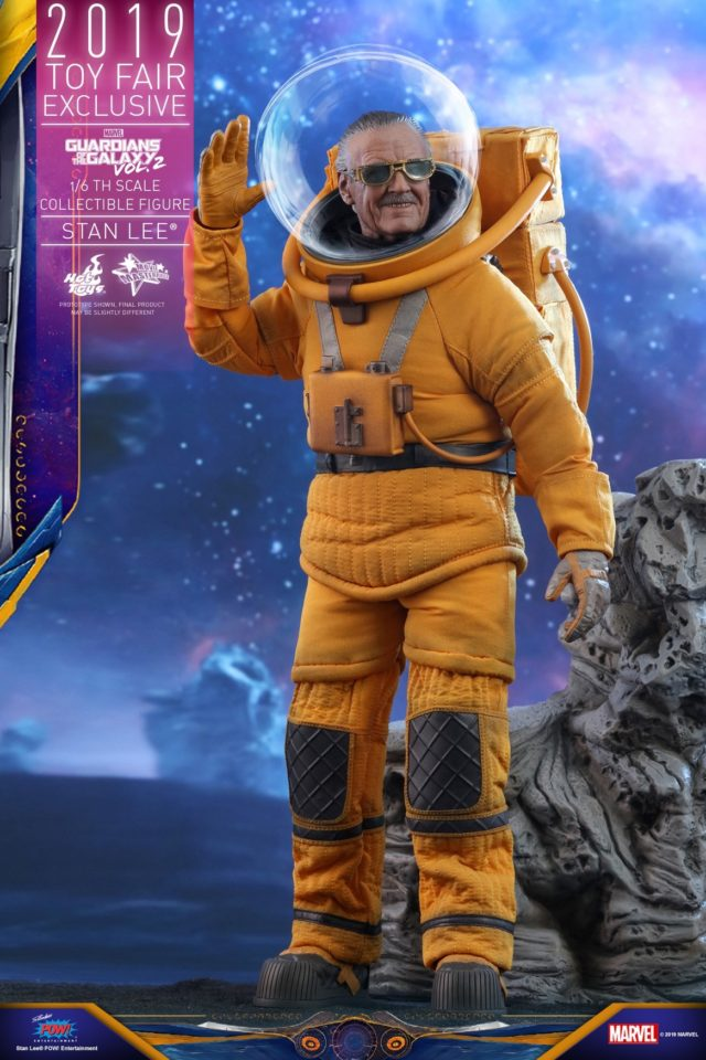 Guardians of the Galaxy Vol 2 Hot Toys Stan Lee Sixth Scale Figure