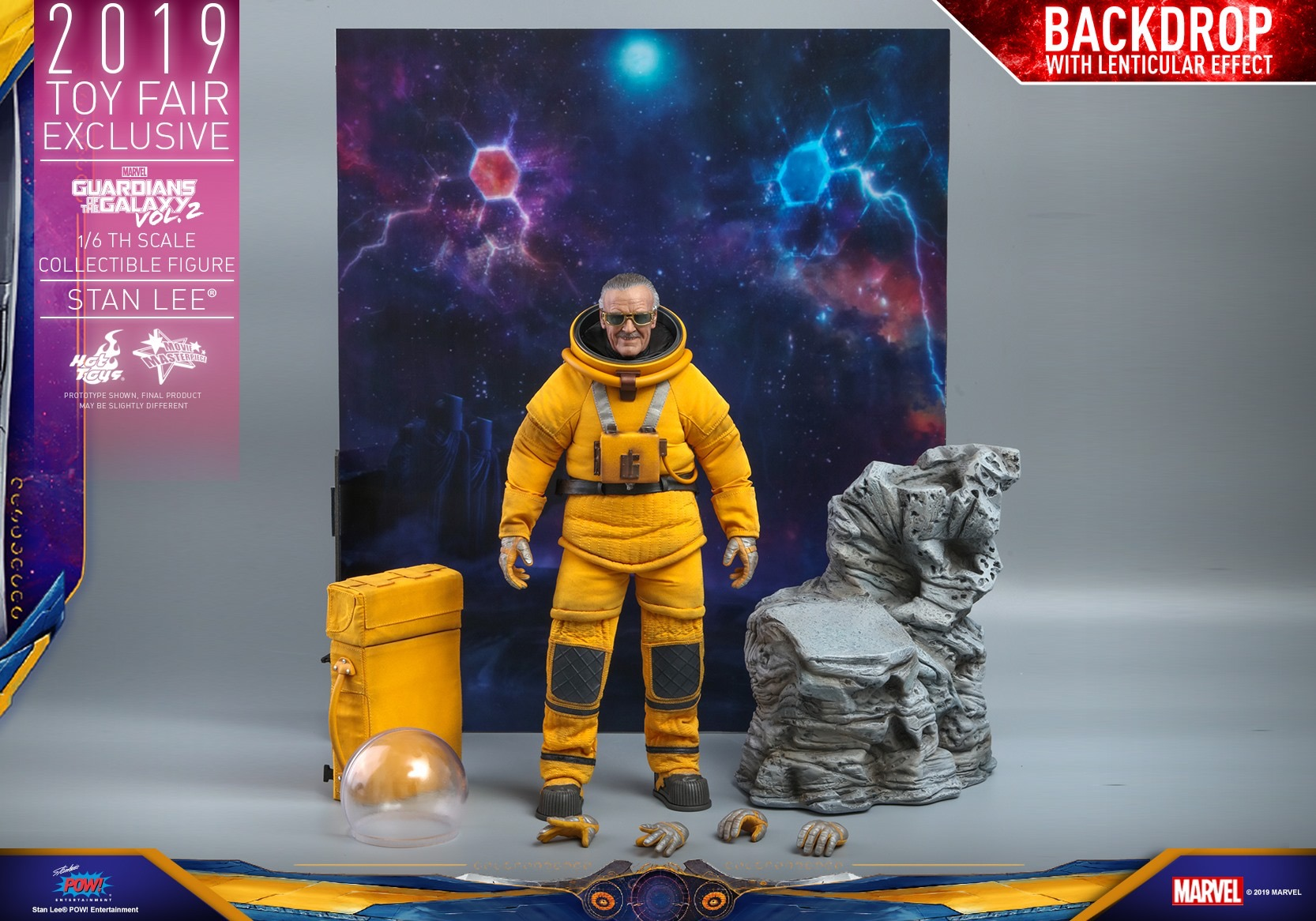 EXCLUSIVE Hot Toys Stan Lee GOTG Cameo Figure Up for Order ...