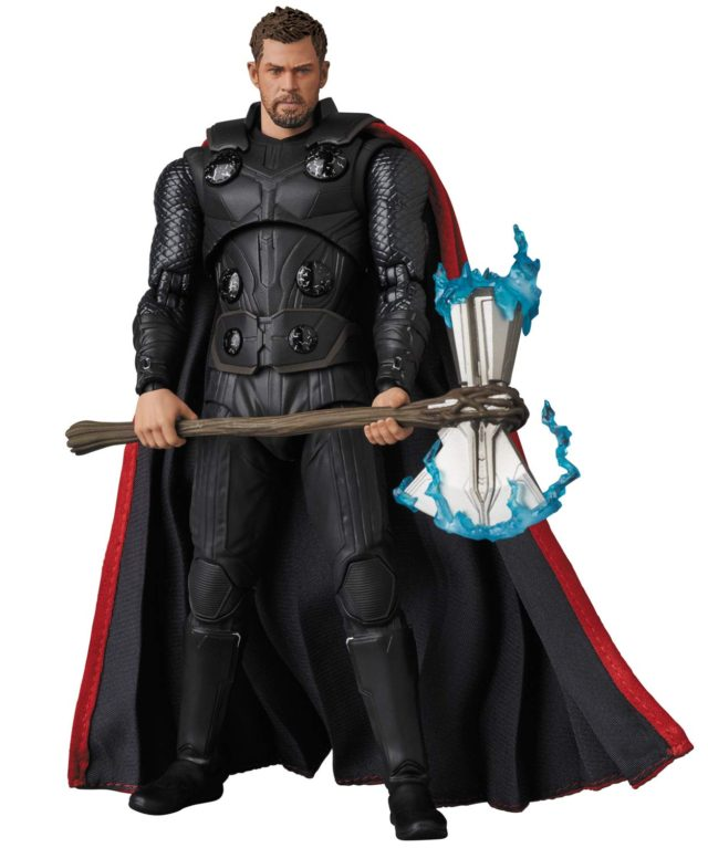 Infinity War Thor MAFEX Figure 6 Inch Import Marvel