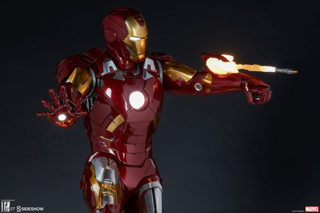 Iron Man Mark VII Statue Sideshow Collectibles Legacy Effects