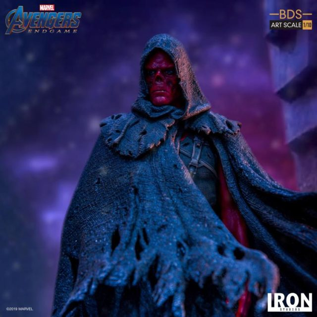 Iron Studios Red Skull BDS Close-Up