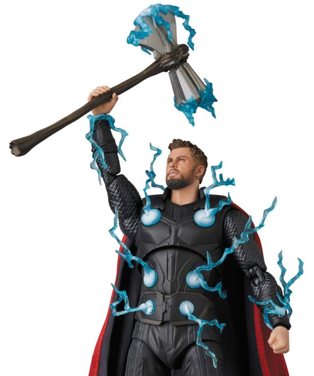 MAFEX Avengers Infinity War Thor Figure Holding Stormbreaker