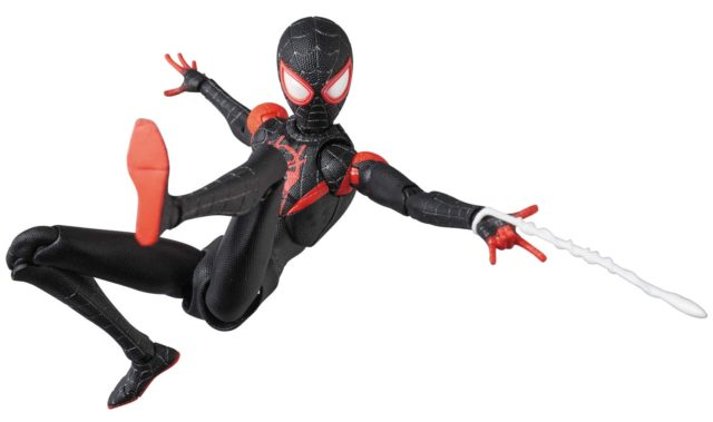 MAFEX Into The Spider-Verse Miles Morales Web Shooting