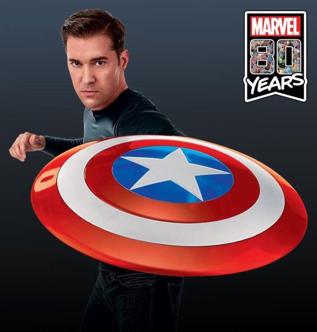 Marvel Legends Comic Book Version Captain America Life-Size Shield