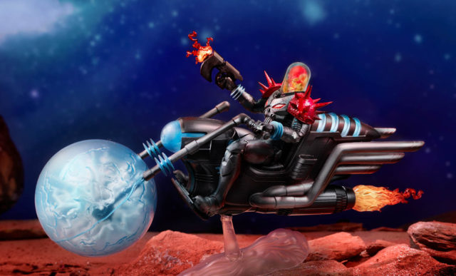 Marvel Legends Cosmic Ghost Rider on Motorcycle Hi-Res