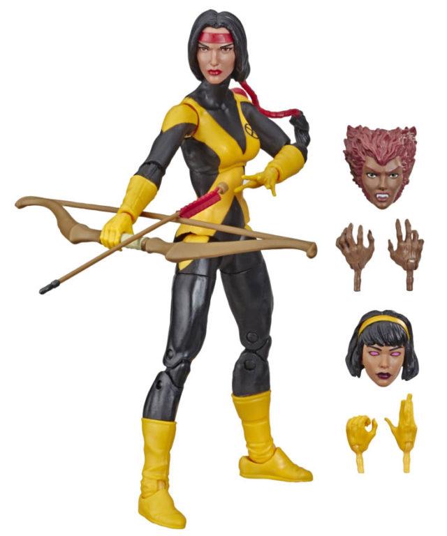 Marvel Legends Dani Moonstar Figures and Accessories