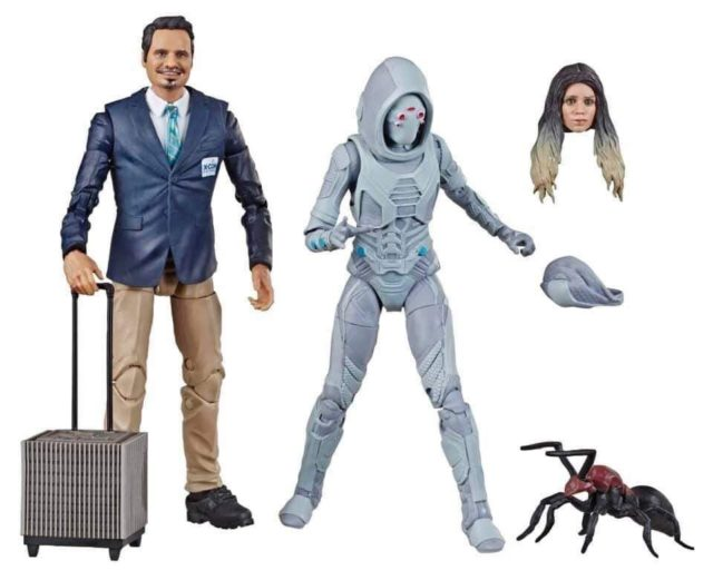 Marvel Legends Ghost and Luis 80th Anniversary Figures