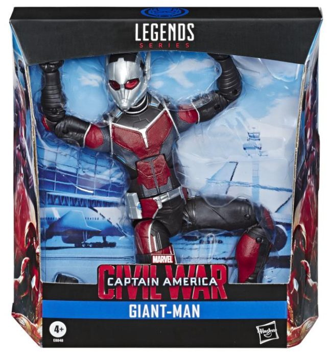 Marvel Legends Giant Man Build-A-Figure Reissue Packaged