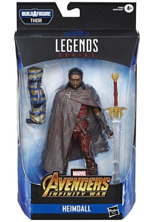 Marvel Legends Heimdall Packaged
