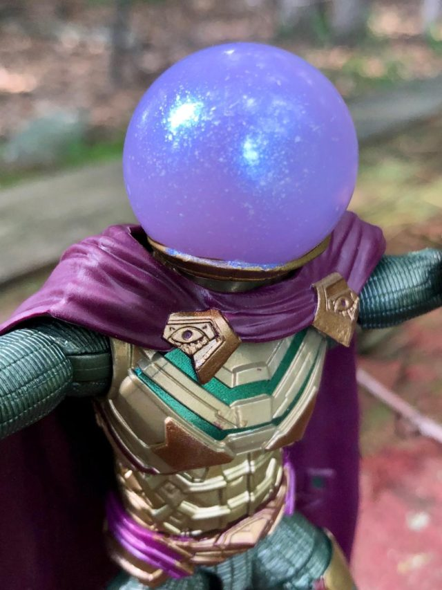 Marvel Legends Mysterio Helmet Close-Up Far From Home Movie