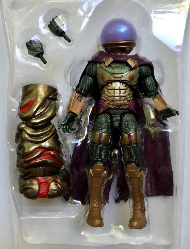 Marvel Legends Mysterio Movie Figure and Accessories Molten Man Leg