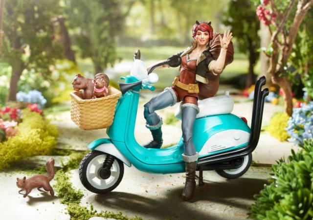Marvel Legends Squirrel Girl on Moped Hi-Res Photo
